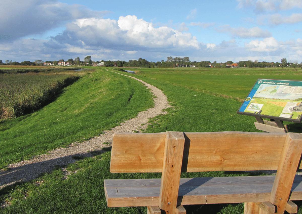 Wandelen op Wieringen met Sport Nu Westerland