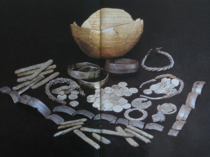 Wandelen op Wieringen Vikingschat