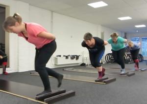 Schaatsen en Skeeleren schaatsplanktraining