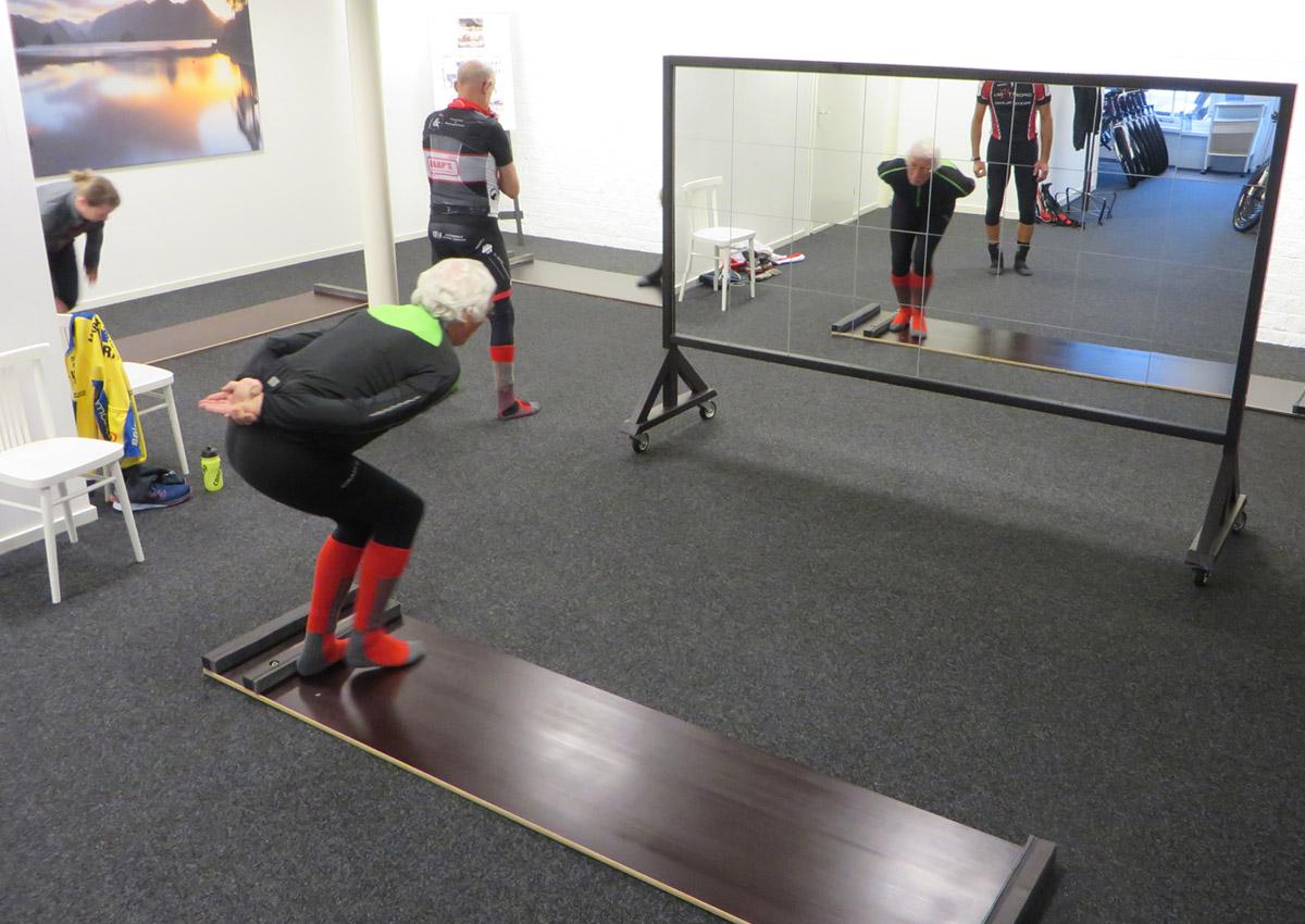 Schaatsen en Skeeleren schaatsplank training