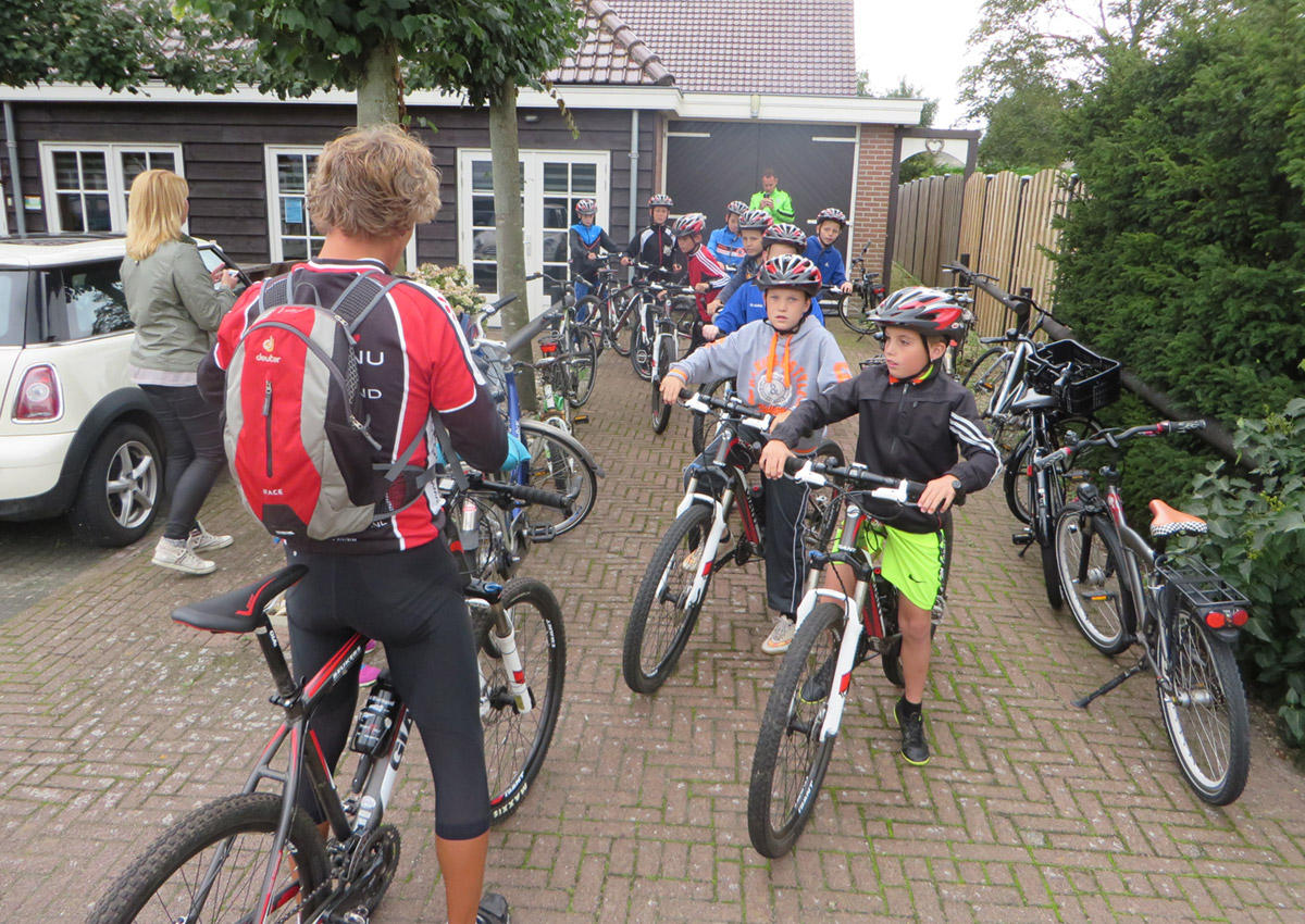 Mountainbike Kinderfeestje Sport Nu Westerland