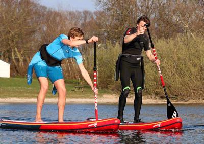 SUPpen Groepsuitje Sport Nu Westerland