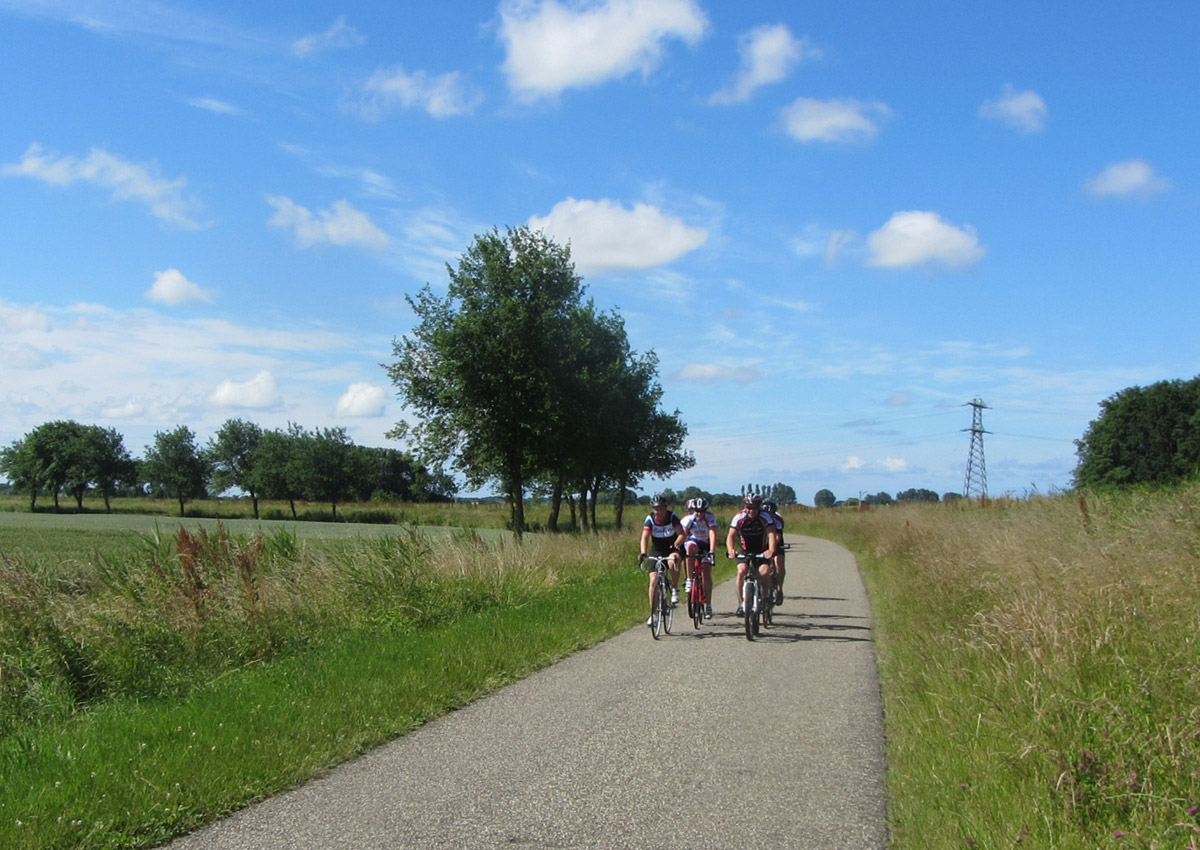 Clinics en Groepstrainingen Toerfietsen in Hollands Kroon