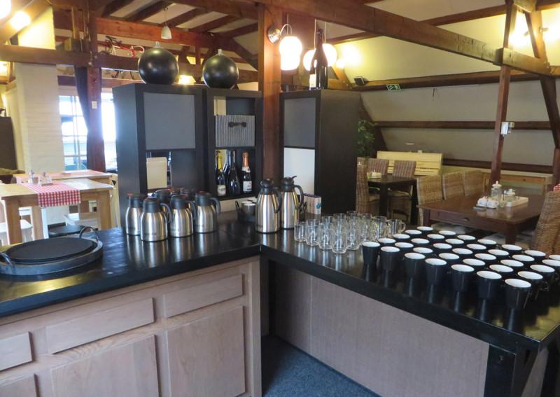 Bedrijfsuitjes in noord holland koffie