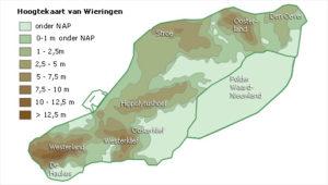 Het glooiende landschap van Wieringen