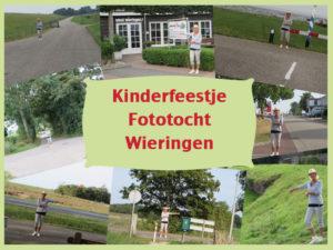 Kinderfeestje Fototocht Wieringen