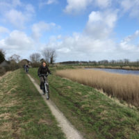 e-bike tour over wieringen