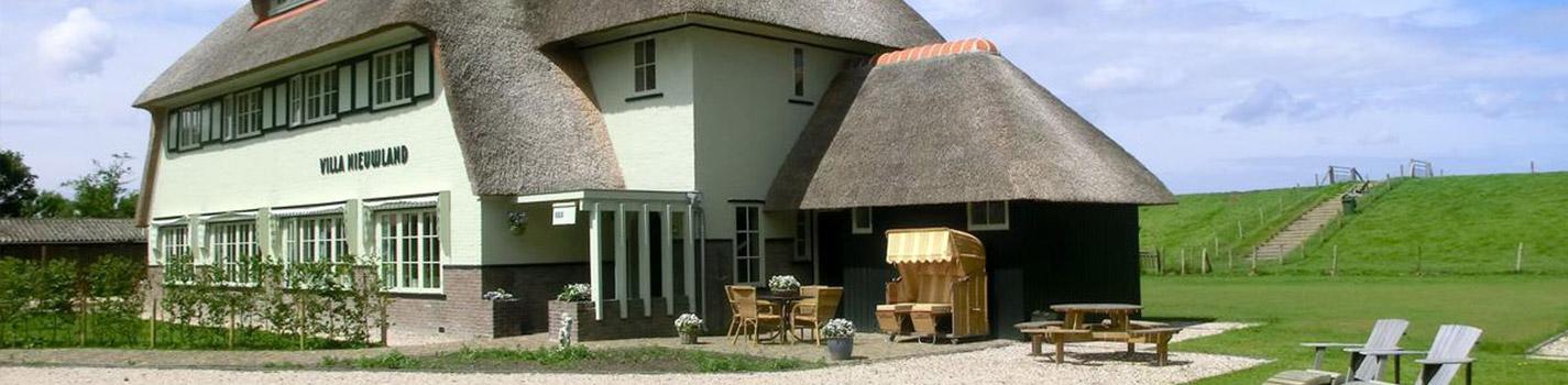 Bed en Breakfast Villa Nieuwland