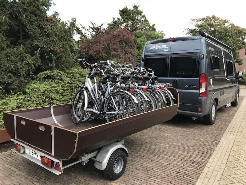Fietsverhuur Wieringen Noord Holland bezorgen