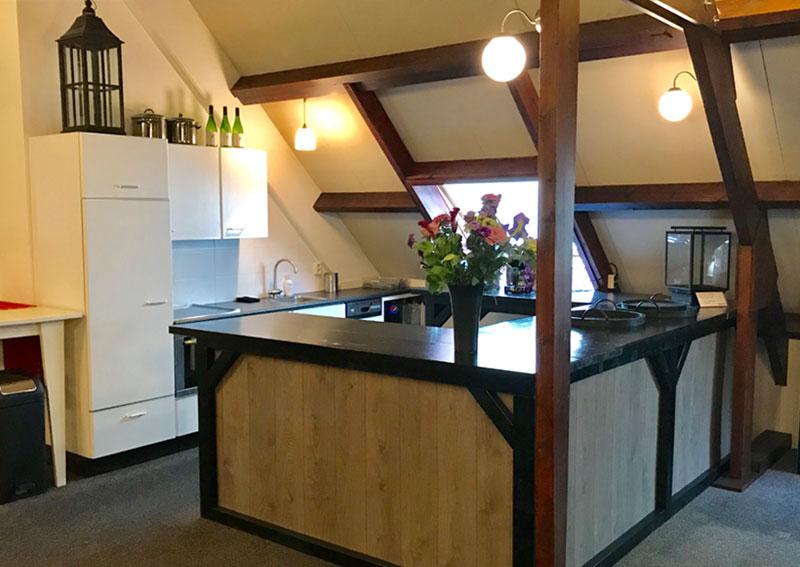 Vergaderruimte Bedrijfsuitjes in noord holland keuken