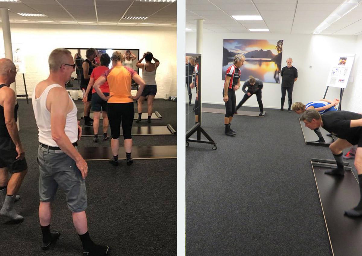 Groepsuitje Schaatsplank Training