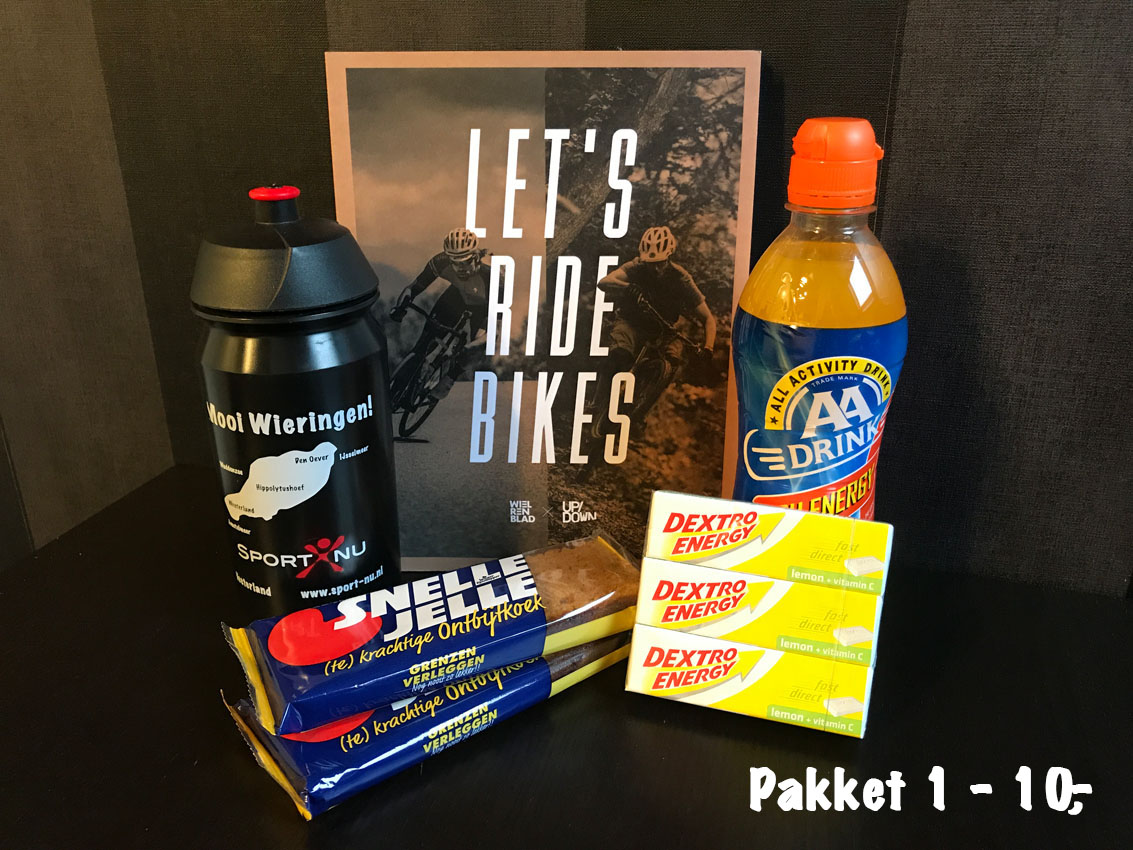 sportief cadeau pakket